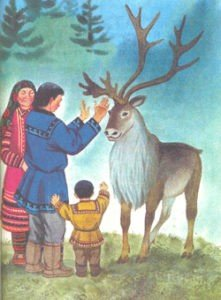 из сказки гордый олень
