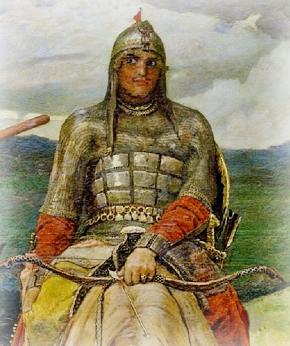 Русский богатырь Алеша Попович